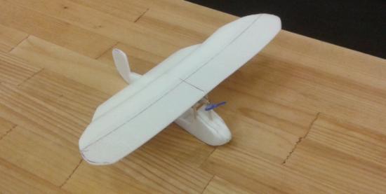 Petit avion de Paul Henri (13 ans)