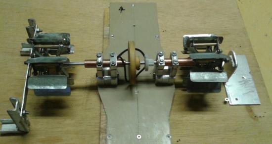 Le système de propulsion fabriqué de toutes pièces par Michel